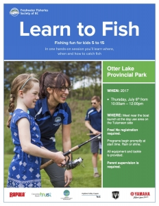 Otter Lake Learn to Fish