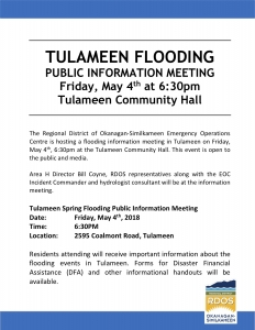 20180503Tulameen_Flooding_Meeting_Poster
